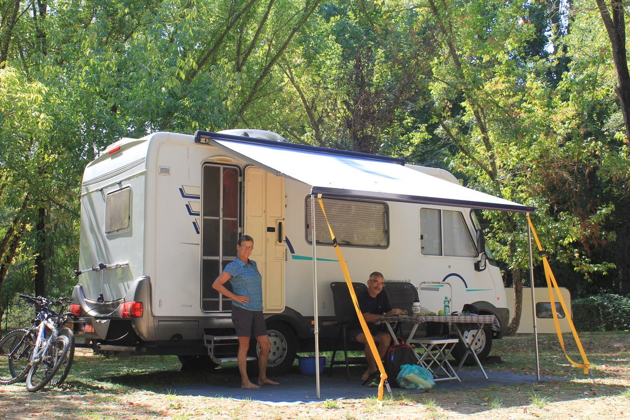 Caravana camping la fundicion